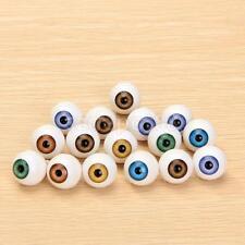 8pcs Round 16mm Acrylic Doll Bear Making Eyes Eyeball 4 Color DIY Accessory