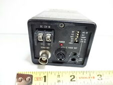 Industrial Panasonic Microscope Camera Ccd Gp Kr22 Optics As Is V3 C 02