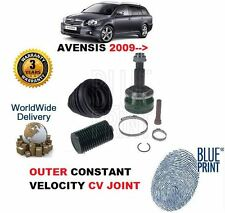 FOR TOYOTA AVENSIS 2.0DT D4D 2009-->ON NEW OUTER CV CONSTANT VELOCITY JOINT KIT