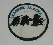 Skagway Alaska Patch AK Hiking Mountain Climbing Hike Hiker Climber Climb Badge