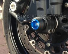 LIGHTECH Crash almohadilla pad Crash para Eje de rueda delant. AZUL MV Agusta