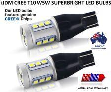 2X iJDM T10 T15 W5W 12V 20W CREE CANBUS LED HEADLIGHT SIDE LIGHT BULBS REVERSE