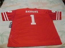 Wisconsin Badgers Jersey - Adult XL ~ Red ~ #1 - Pro Edge ~ NWT - UWM Madison WI