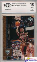 1996/97 Upper Deck #16 Michael Jordan BECKETT 10 MINT Chicago Bulls HOF