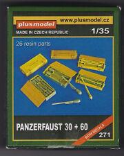 PLUSMODEL PLUS MODEL 271 - PANZERFAUST 30 + 60 - 1/35 RESIN