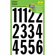 """HyKo Products Co 20400730 Numbering Kit 3"""" - Black On White, MM-4N"""