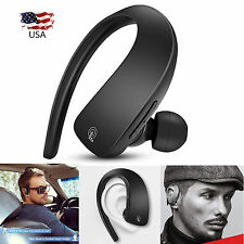 Bluetooth Headset Wireless Earpiece for iPhone Samsung Blu Advance A4 Motorola