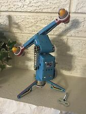 Coney Island Space Amusement Park Ride Tin Litho Wind up Toy