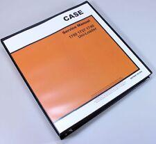 Case 1740 Uni Loader Skid Steer Service Technical Manual Repair Shop Book Binder