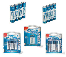 50 Batteries 20 AA 20 AAA 4 DD 4 CC 2 9V  Super Alkaline Battery High Quality