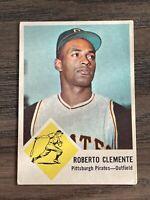 1963 Fleer Roberto Clemente #56 Pittsburgh Pirates HOF Set Break