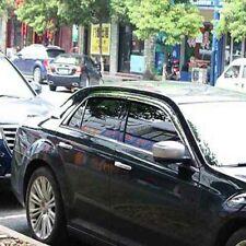 Chrome Side Window Visor Vent Deflector Sun Rain Guard Shield For Chrysler 300C
