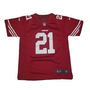 Nike On Field SF 49ers Frank Gore #21 NFL Replica Red Jersey Youth Medium M
