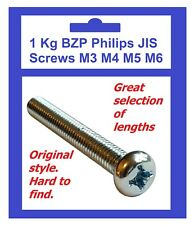 1KG BZP Original Style Philips Screws M3 M4 M5 M6 - Honda VFR400