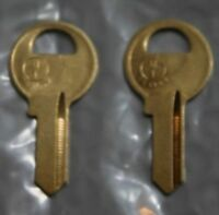 XF1250 2 New keys Steelcase File Cabinet Office Furniture Desk Lock Key XF1001
