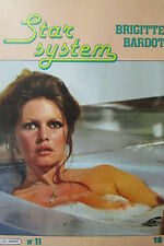 CINEMA PHOTOS FILMS REVUE STAR SYSTEM N° 11 de 1982 SPECIAL BRIGITTE BARDOT