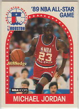 1989-90 HOOPS NBA BASKETBALL ALL-STAR SUBSET CARD:MICHAEL JORDAN #21 BILLIONAIRE