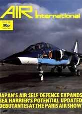 AIR ENTHUSIAST INTERNATIONAL MAGAZINE 1985 AUG - MCDONNELLS F-101 VOODOO