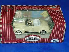 Gearbox Ford 1940 Chain Driven Pedal Car 1:18 Deluxe Coupe White