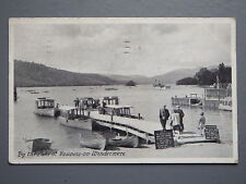 R&L Postcard: By the Lake at Bowness-on-Furness Winderemere, Pleasure Boats