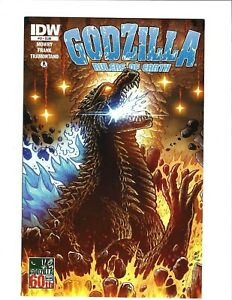 GODZILLA RULERS OF EARTH #12  MAY 2014 IDW COV. BY MATT FRANK 10.0 GEM MINT 60TH