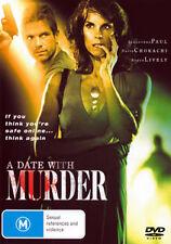 Alexandra Paul David Chokachi A DATE WITH MURDER - SEDUCTIVE KILLER THRILLER DVD