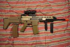 New listing AIRSOFT BUNDLE: Scar L Metal Electric Airsoft Gun, Airsoft Pump Shotgun, more!