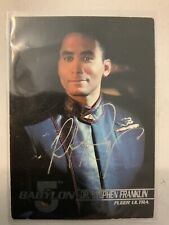 Babylon 5 Richard Biggs Hand Signed Stephen Franklin 1995 Fleer Trading Card #05