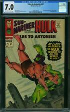 Tales to Astonish #87 CGC 7.0 -- 1967 -- Boomerang Krang Hulk #2008174019