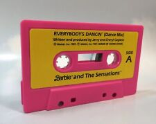 Barbie Doll Accessories: 1987 Barbie and the Sensations Cassette Tape