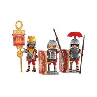 Playmobil Roman soldiers pack of 3 figure légionnaires figurines Armée 6490 army