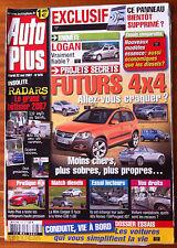 AUTO PLUS du 22/5/2007; Enquête Logan/ Mini Cooper D Face à Volvo C30 1.6D