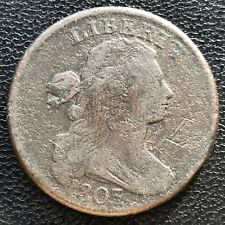 1803 Large Cent Draped Bust One Cent Mid Grade #7590