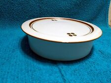 Royal Copenhagen China Domino Pattern Serving Vegetable Bowl with Lid # 2