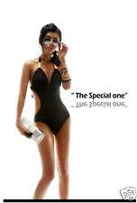 High Quality Stripped Padded Monokini Swimwear, size 6-12