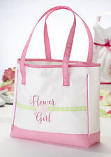 wedding flower girl gift flower girl tote bag gift