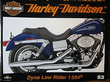 FASCICULE 53 HARLEY DAVIDSON DYNA LOW RIDER 1584 / TERMINATOR II / MOTEUR SHOVEL