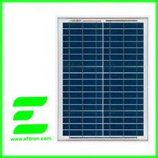 Placa solar panel  20 Wp 12V  SACLIMA. Modulo fotovoltaico. EFITRÓN.