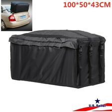 Waterproof Car SUV Roof Top Tail Carrier Bag Cargo Luggage Travel Storage Rack