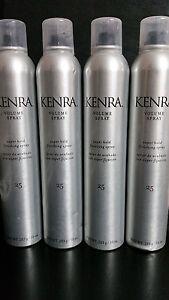 Kenra 25 VOLUME SUPER HOLD FINISHING HAIR SPRAY 10 oz (283g) ea -- (4) BOTTLES