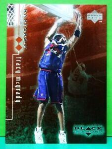 Tracy McGrady insert card Double Diamond 1998-99 Black Diamond #82