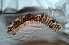 New, Wine Cork Wreath, Swag, Beautiful Decor for your Home or Bar