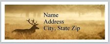 Personalized Address Labels Country Deer Buy 3 get 1 free (bx 681)