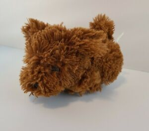 THE HAPPY'S INTERACTIVE PET DOG World of Zhu happys brown WORKS toy