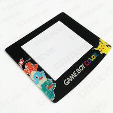 Pokemon Pikachu/Charmander Nintendo Game Boy Color GBC New Screen Plastic