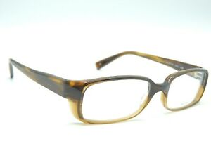 Oliver Peoples Gehry 8108 Brown Stripe Eyeglass Frames 53 18 140