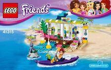 Lego 41315 Set Friends Heartlake Surfladen Surf Shop 1 Minifigur NEU New