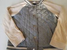 Vguc Gap Kids Gray Varsity Quilted Jacket M (8)