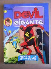 DEVIL  Gigante Serie Cronologica n°4 Edizione Corno  [G502] - OTTIMO