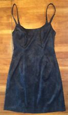 Guess Junior Women's Sheath Sleeveless Mini Dress Size 7 Black EUC